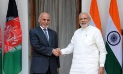 کمک یک میلیارد دالری هند به افغانستان