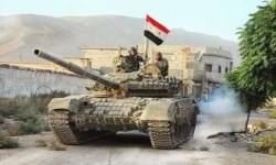 اردوی سوری، شهر دیرحافر را از داعش پس گرفت
