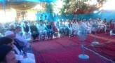 حضور گسترده مردم به منزل مرحوم سیدحسین انوری برای عرض تسلیت
