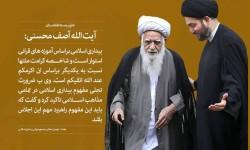 نهمین نشست مجمع جهانی بیداری اسلامی با سخنرانی آیت الله محسنی (دامت برکاته) در عراق شروع به کار کرد