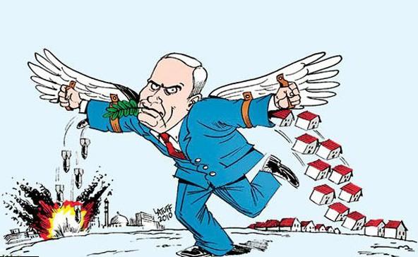 کاریکاتور صلح